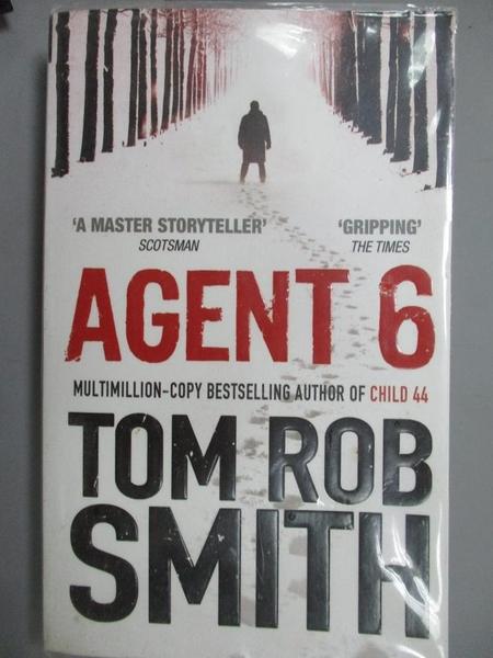【書寶二手書T3/原文小說_LAC】Agent 6_Tom Rob Smit