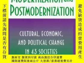 二手書博民逛書店Modernization罕見And PostmodernizationY256260 Ronald Ingl