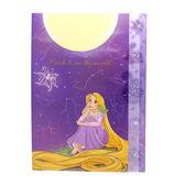 DISNEY 迪士尼公主靜謐夜空系列造型五層分類文件夾(長髮公主樂佩)★funbox★sun-star_UA54300