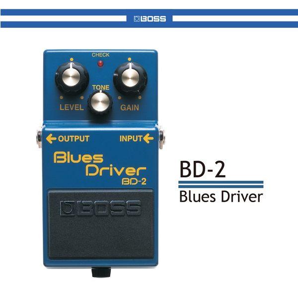 【非凡樂器】BOSS BD-2 Blues Driver經典藍調破音效果器 / 贈導線 公司貨保固