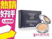 Dior 迪奧輕透光空氣蜜粉餅 10g #020◐香水綁馬尾◐
