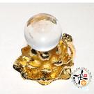 水晶球+金蓮座 AA【十方佛教文物】
