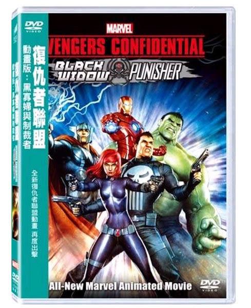 復仇者聯盟 動畫版黑寡婦與制裁者 DVD (購潮8)