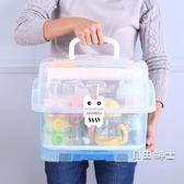奶瓶收納箱晾干架大號抗菌便攜式嬰兒餐具寶寶用品收納盒帶蓋防塵WY 1件免運