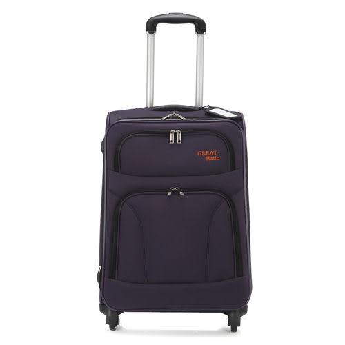 Great matic -18吋 輕量型商務旅行箱.紫色G350-18-POP