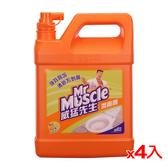 威猛先生潔廁劑加侖桶-柑橘清香3785ml*4(箱)【愛買】