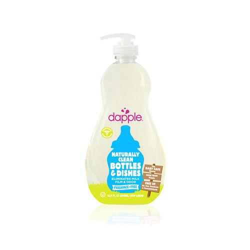 美國Dapple 奶瓶及餐具清潔液-無香精500ml