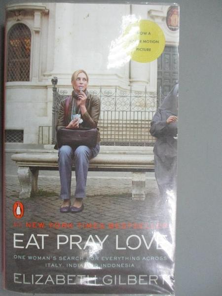 【書寶二手書T9/一般小說_HFA】Eat Pray Love_Elizabeth Gilbert