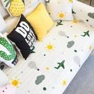 雨朵 卡通沙發墊布藝防滑全棉沙發套四季通用客廳沙發巾貴妃定制