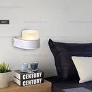 壁燈◆簡約小巧造型(白色)◆單燈❖歐曼尼...