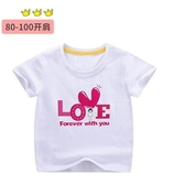 女童夏裝女寶寶短袖T恤2020新款上衣t兒童6純棉半袖卡通1潮3-5歲7 滿天星