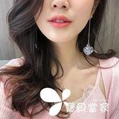 耳環韓國簡約百搭耳飾品個性夸張吊墜潮人網紅耳墜長款氣質耳釘女