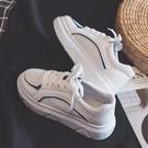 冬季新款帆布鞋女小白鞋韓版百搭學生原宿ulzzang厚底板鞋ins 夢想生活家