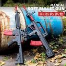 軟彈槍m416突擊步槍兒童玩具槍仿真男孩吃雞95式沖鋒槍狙擊子彈槍