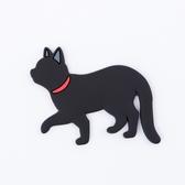 【任3件3折】Pets磁鐵掛勾-黑貓-生活工場