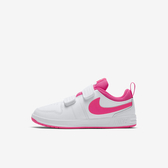 NIKE PICO 5 (PSV) [AR4161-102] 中童鞋 兒童 運動 休閒 基本 魔鬼氈 簡約 穿搭 白粉