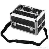 拉桿紋繡工具箱專業手提化妝箱多層 韓式半永久箱子美容箱跟妝箱igo    歐韓流行館