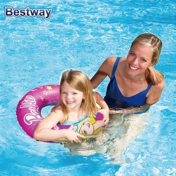 ★樂購王★ bestway 商檢合格 Barbie 芭比 兒童游泳圈【B0553】