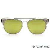 Ed Hardy 太陽眼鏡 鈦 雙槓 墨鏡 EH1045 SILVER 透明-霧銀 眼鏡推薦 久必大眼鏡