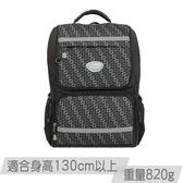 《新品》【IMPACT】怡寶輕量護脊書包-炫彩菱紋系列-黑色 IM00368BK