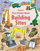 FIRST STICKER BOOK BUILDING SITES /貼紙書