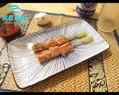 【鮮匠海鮮】【牛肋條串】1盒8支(原味),中秋烤肉必備