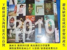 二手書博民逛書店ARCHIVE罕見全球平面、電視廣告與海報 2010年合訂本,精