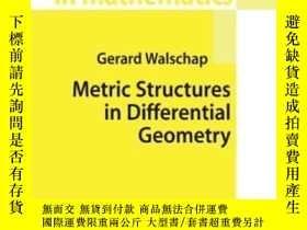 二手書博民逛書店Metric罕見Structures In Differential GeometryY255562 Gera