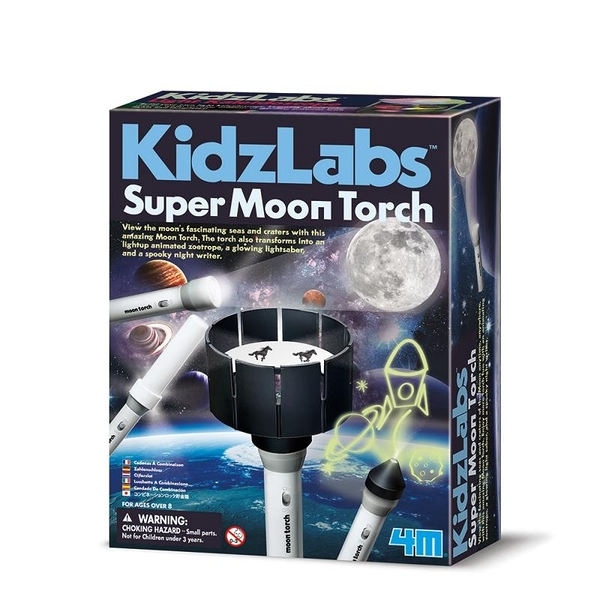 【4M】03384 科學探索-月光魔力寶盒 Super Moon Torch
