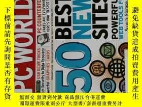 二手書博民逛書店PC罕見WORLD Magazine 2006年2月 英文個人電腦雜誌 可用樣板間道具雜誌Y14610