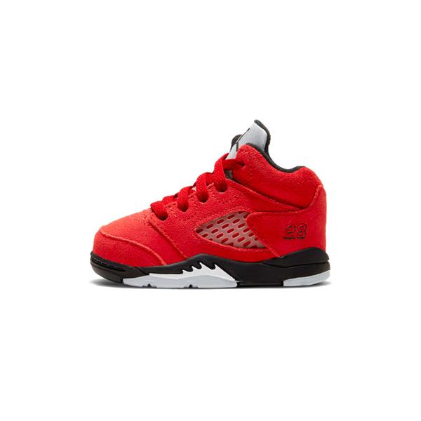 Nike Air Jordan 5 Retro  Toro Bravo小童 紅 憤怒公牛 喬丹籃球鞋440890-600