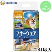 Petland寵物樂園《Unicharm消臭大師》公狗用紙尿褲/小中型犬用/犬用尿布