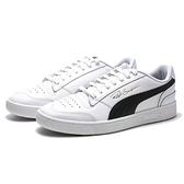 PUMA 休閒鞋 RALPH SAMPSON E.SO 瘦子 白黑 皮革 金字 復古 男 (布魯克林) 37084611