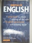 【書寶二手書T1/原文小說_HNO】Essentials of English_Hopper