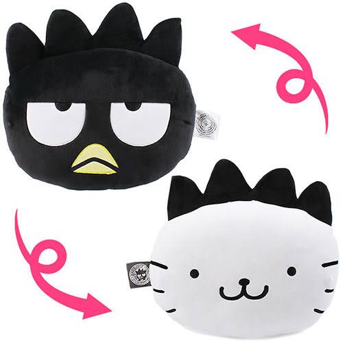 《Sanrio》酷企鵝變裝派對系列雙面大臉造型靠墊★funbox生活用品★_502731