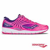 SAUCONY BREAKTHRU 2 輕量緩衝專業訓練鞋-粉紅x深藍