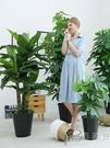 假花仿真發財樹裝飾植物室內假盆栽客廳花大型落地樹綠植塑料盆景 WD 小時光生活館