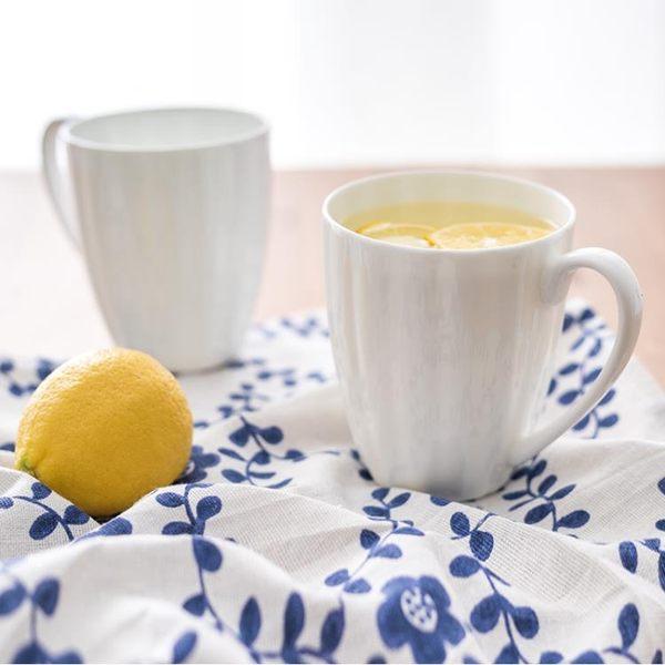 馬克杯北歐創意簡約大容量馬克杯家用個性旋紋骨質瓷可愛牛奶杯早餐杯【優惠兩天】