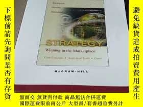 二手書博民逛書店strategy:winning罕見in the marketp