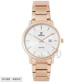 【台南 時代鐘錶 SIGMA】簡約時尚 藍寶石鏡面時尚腕錶 1122L-R2 白/玫瑰金 30mm 平價實惠的好選擇