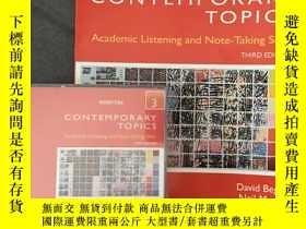 全新書博民逛書店ContemporaryTopics 3: Academic L