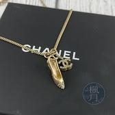BRAND楓月 CHANEL 香奈兒 05/A 高跟鞋 雙C 水鑽 項鍊 首飾 墜飾 墜鍊 飾品