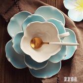 歐式小奢華陶瓷咖啡杯碟套裝 家用下午茶茶具套裝英式花茶杯 zh3951『東京潮流』