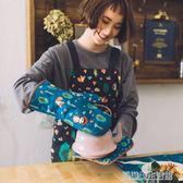 卡通可愛廚房微波爐烤箱烘焙用隔熱手套耐高溫防燙隔熱墊