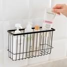 鐵藝浴室收納籃 廚房 鐵藝噴漆 置物籃 簡約 置物架 調味料架 儲物筐【Y067】♚MY COLOR♚