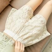 防走光安全褲女蕾絲可外穿寬松大碼夏季薄款不卷邊冰絲打底褲短褲