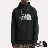 【THE NORTH FACE 美國】男 防潑水連帽長袖T恤『JK3 黑』NF0A3M4E 戶外 登山 時尚 保暖