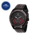MASERATI WATCH 瑪莎拉蒂手錶 R8871612023 經典三環黑紅款 錶現精品 原廠正貨