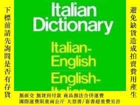 二手書博民逛書店Cassell s罕見Standard Italian Dictionary, Thumb-indexedY2