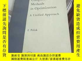 二手書博民逛書店Computational罕見Methods in Optimization A Unified Approach